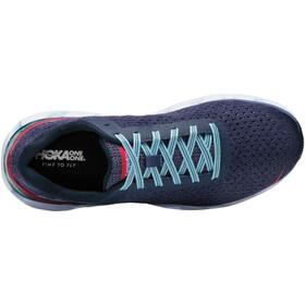 Hoka One One Elevon Chaussures de trail Femme, marlin/blue ribbon